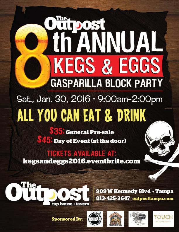 Gasparilla Block Party